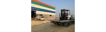 Bao Bì Hương Sen Thái Bình nhận bàn giao 02 xe nâng TCM 3 tấn chui công 2019