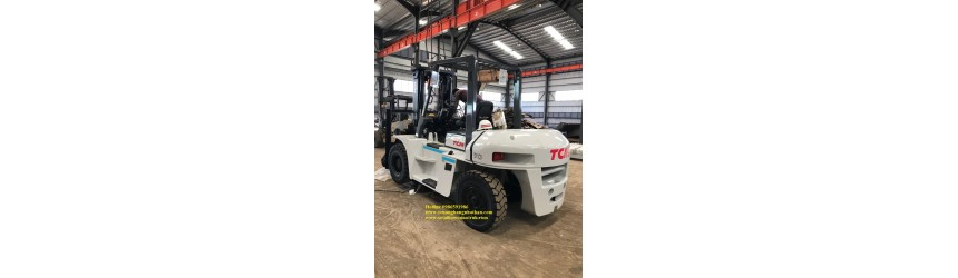 Hình ảnh bàn giao xe nâng 7 tấn TCM tại TPHCM & Long An T3 & T7/2017