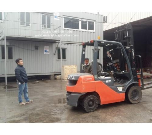 Xe nâng Toyota 2.5 tấn 62-8FD25 2013 - 5010h - Đã qua sử dụng