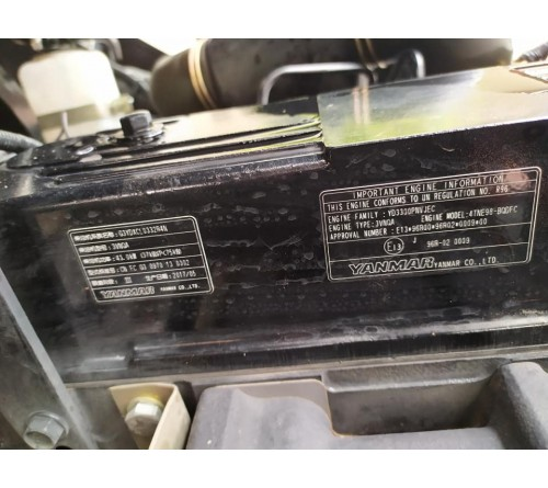 Xe nâng Doosan 2.5 tấn chui công dịch giá - Xe nâng cũ D25GP - 2017 - 528h hoạt động