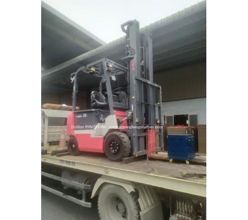 Xe nâng điện ngồi lái 2.5 tấn 6.5 mét Nichiyu FB25PN
