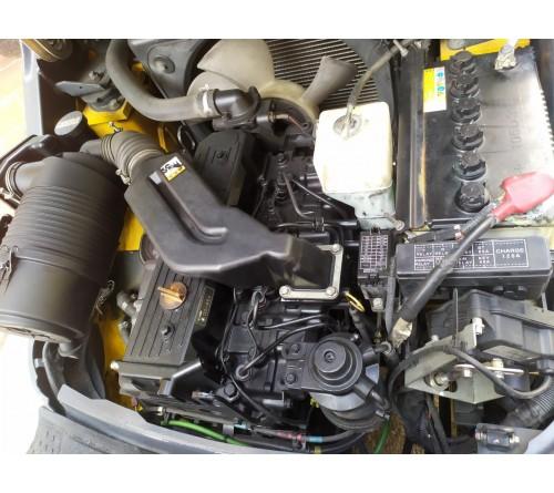 Xe nâng 1.5 tấn Komatsu - Xe nâng cũ đời cao - 05/2013