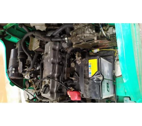 Xe nâng cũ 3 tấn chui công dịch giá - Hãng Mitsubishi FG30T - 2004 - SX Nhật Bản - Đăng kiểm T4/2019