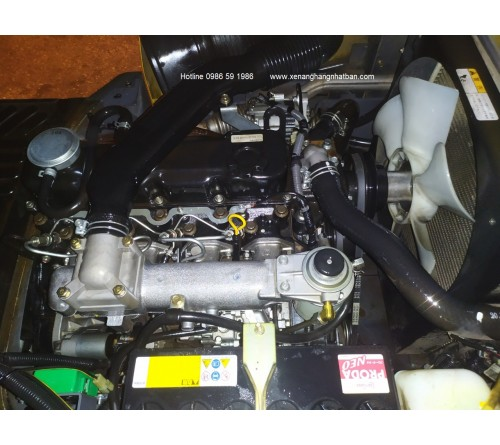 Xe nâng cũ 1.8 tấn - TCM FHD18T3 - TD27 - Sản xuất Nhật Bản 2011