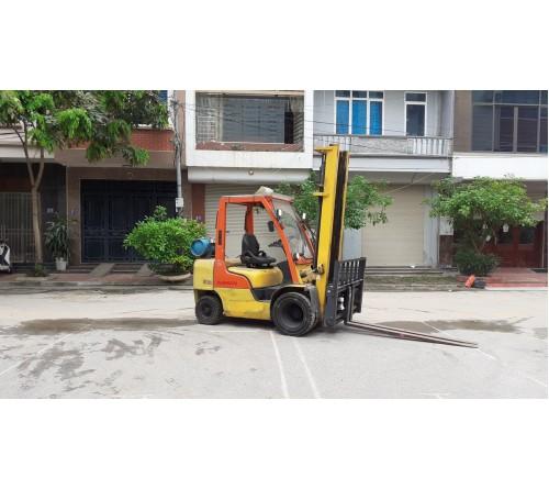 Xe nâng 2.5 tấn 4.5 mét lốp đôi - dịch giá - dịch càng - Nissan - 2010 - Nhiên liệu xăng ga - EBT-U1F2A25D