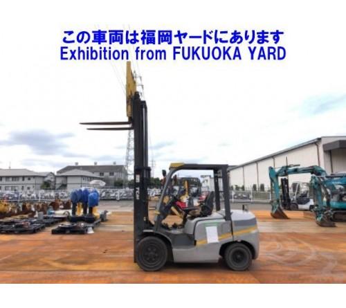 Xe nâng 3 tấn TCM - FD30T3 - Động cơ TD27 - Sản xuất Nhật Bản 10/2011 - Nhập Nhật T12/2019